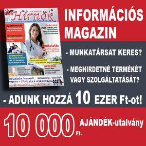 Hírnök Magazin hirdetés
